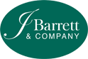 J Barrett logo